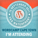 I'm attending WordCamp Cape Town 2011!