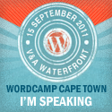 I'm speaking WordCamp Cape Town 2011!