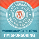 I'm sponsoring WordCamp Cape Town 2011!