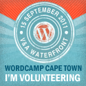 I'm volunteering WordCamp Cape Town 2011!