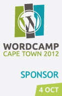 I'm sponsoring WordCamp Cape Town 2012!