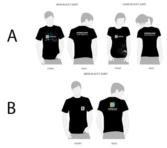 Speaker Wordcamp T-shirt designs
