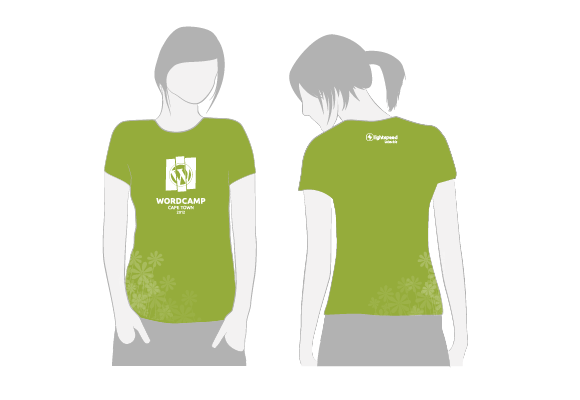 wcct female attendees t shirt 2012 - Company T Shirt Design Ideas