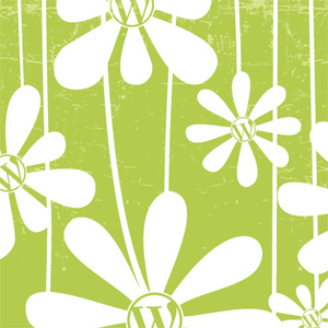 Wordcamp  floral print