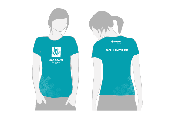 WCCT female attendees' t-shirt 2012