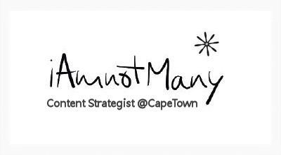 iAmnotMany Logo